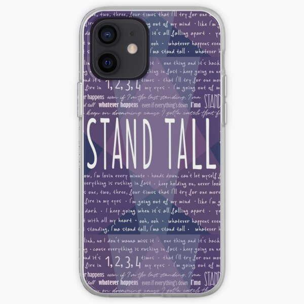 """Stand Tall"" Julie and the Phantoms - Edición Spotlight Funda blanda para iPhone"