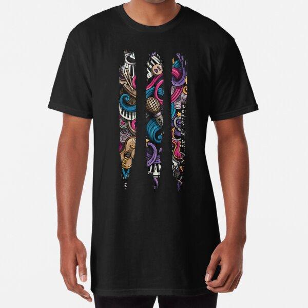 Music is My Life Long T-Shirt