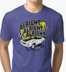 Alright, Alright, Alright Tri-blend T-Shirt