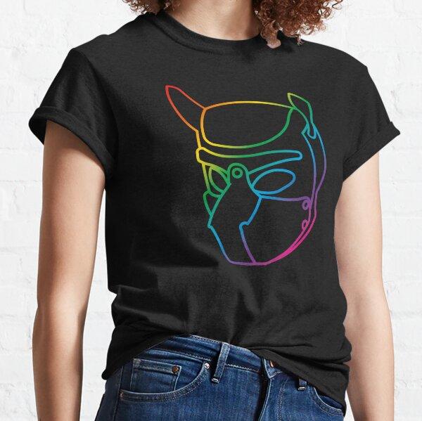 Regenbogen Welpenhaube Classic T-Shirt