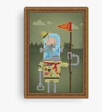 ROBO BOYSCOUT Canvas Print