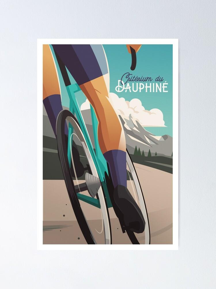 Alternate view of Critérium du Dauphiné - Cycling Poster Poster