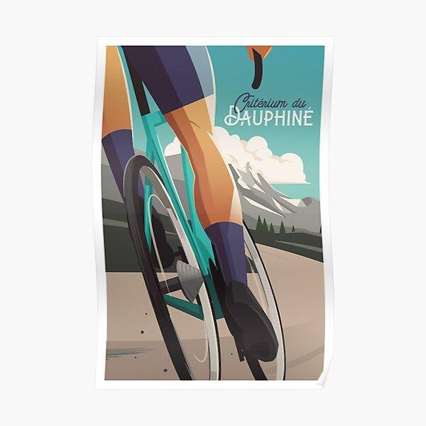 Critérium du Dauphiné - Cycling Poster Poster