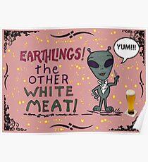 Earthlings posters redbubble earthlings poster m4hsunfo