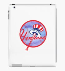 New York Yankees Watercolor Logo iPad Case/Skin
