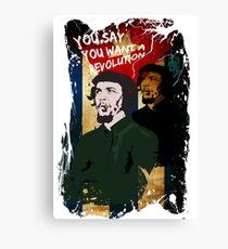Revolution - Che Canvas Print