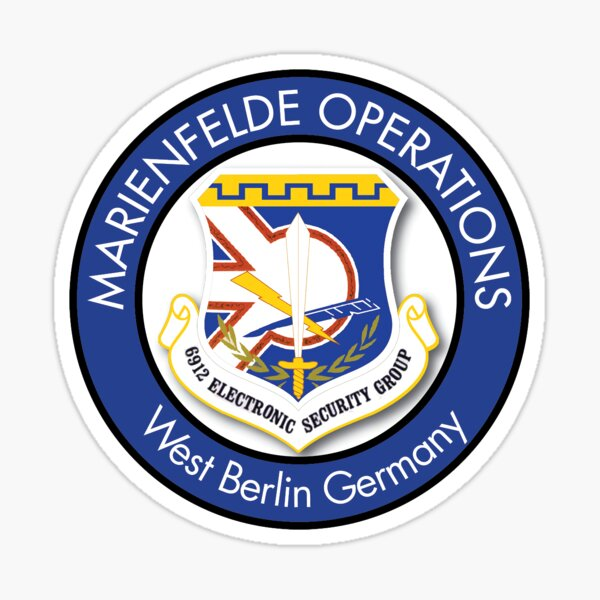 6912th Security Group, Marienfelde Operations Sticker