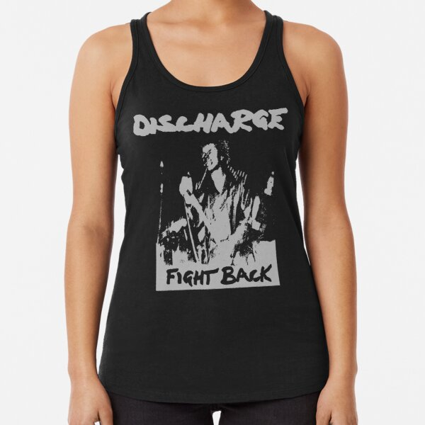 Discharge - Fight Back Racerback Tank Top