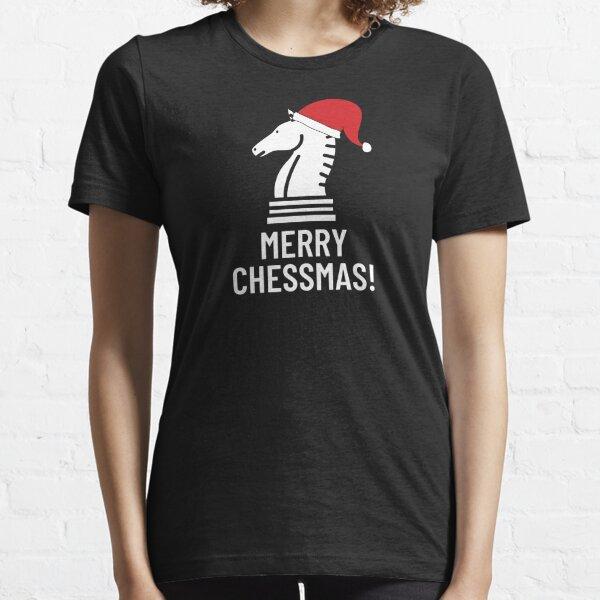 Merry Chessmas - Christmas Chess Essential T-Shirt