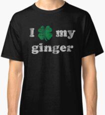 I Shamrock My Ginger St Patrick's Day Classic T-Shirt