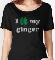I Shamrock My Ginger St Patrick's Day Women's Relaxed Fit T-Shirt