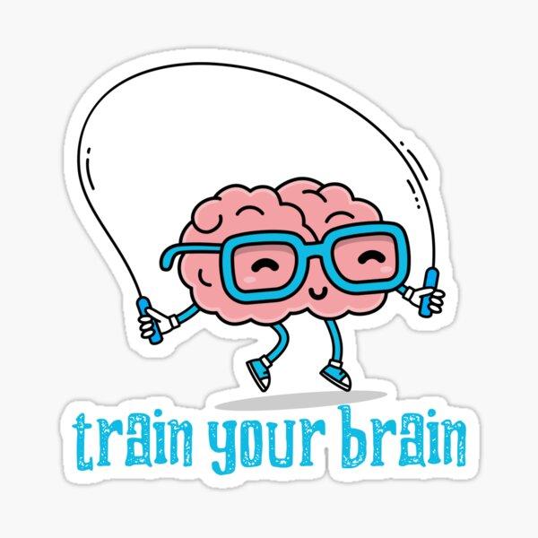 Train Your Brain Sticker