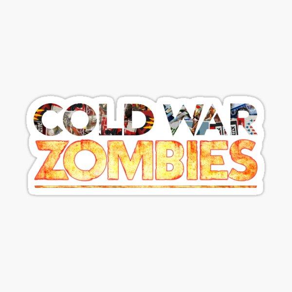 Logo du titre des zombies de la guerre froide Sticker