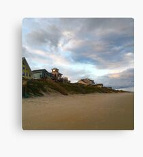 Take me away to a house by the sea Canvas Print