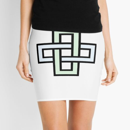 Solomon's knot Mini Skirt
