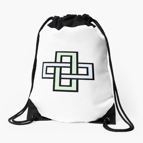 Solomon's knot Drawstring Bag