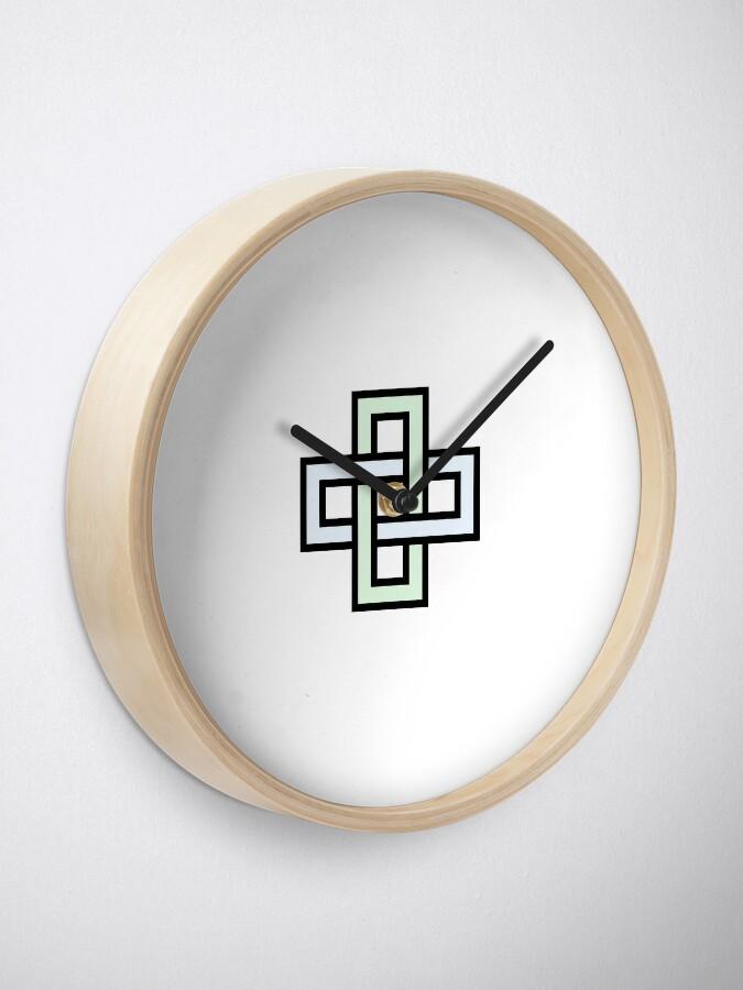 Alternate view of Solomon's knot Clock