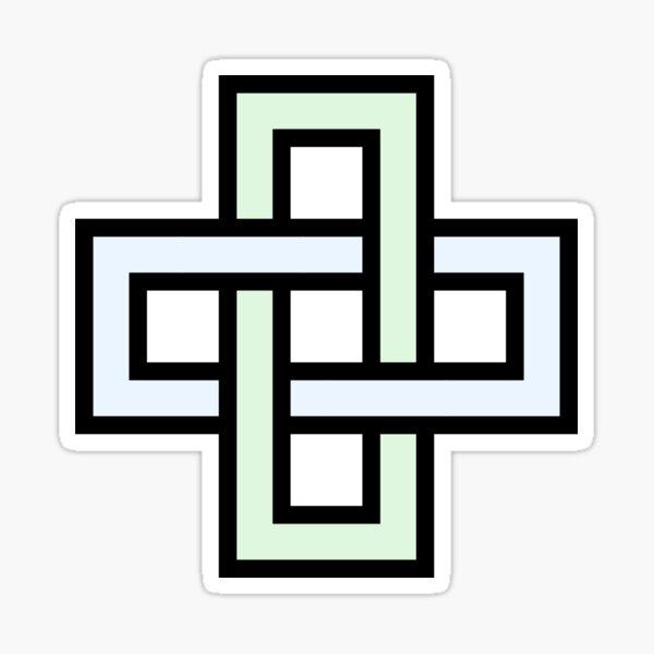 Solomon's knot Sticker