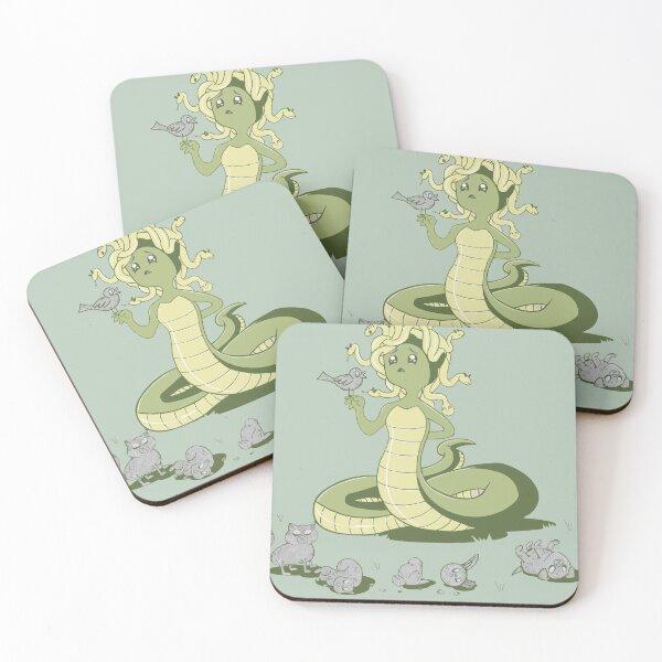 Princess Medusa and Friends Coasters (Set of 4)