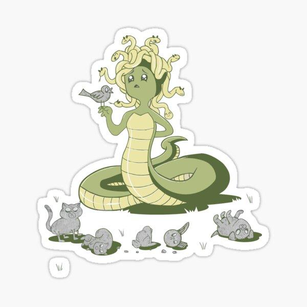 Princess Medusa and Friends Sticker