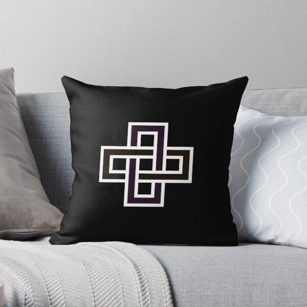 Copy of Solomon's knot Throw Pillow
