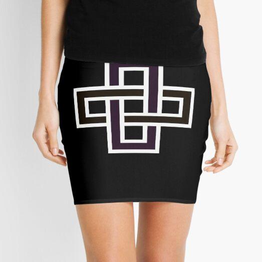 Copy of Solomon's knot Mini Skirt