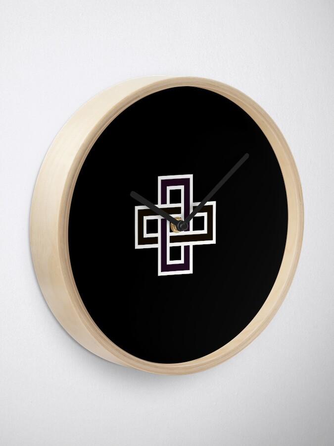 Alternate view of Copy of Solomon's knot Clock