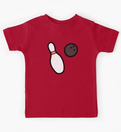 Bowling for Pins Pattern Kids Clothes