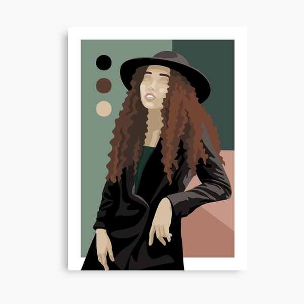 Retro Vibes - Unwind Canvas Print