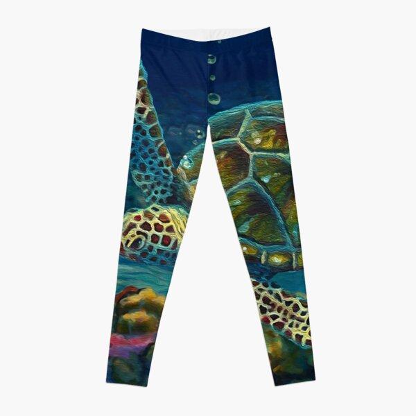 Twilight Reef Leggings