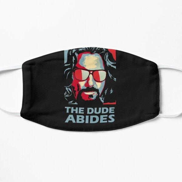 The Dude Abides Man Flat Mask