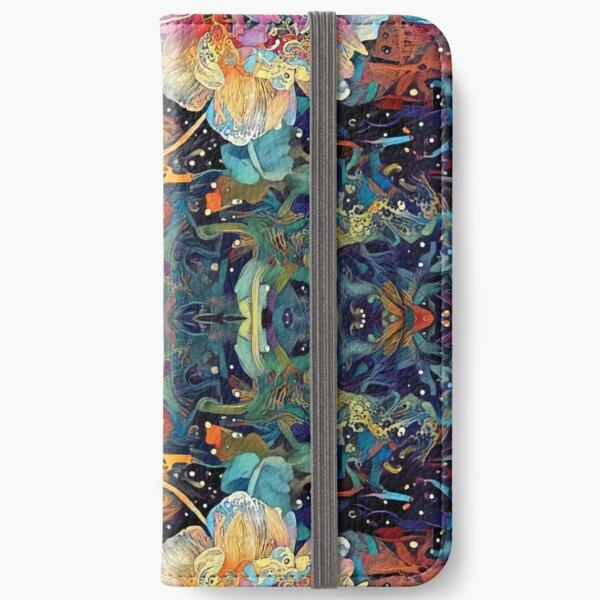 Night Flower iPhone Wallet