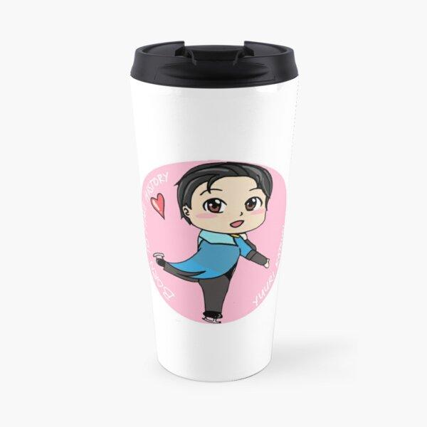 Yuuri Kastsuki - Born to make history  Travel Mug