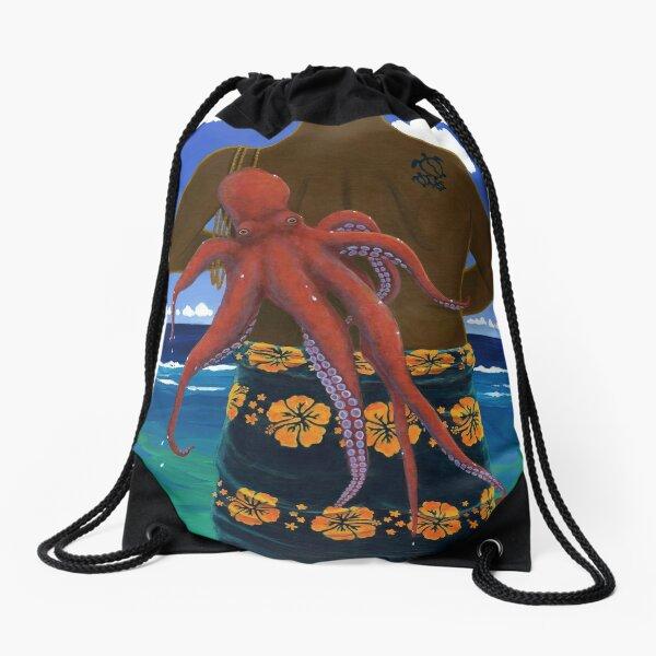 He'e for Keoni Drawstring Bag