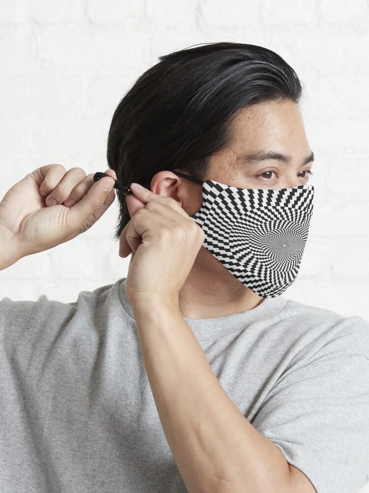 Alternate view of Optical Illusion, Visual Illusion, Physical Illusion, Physiological Illusion, Cognitive Illusions Mask