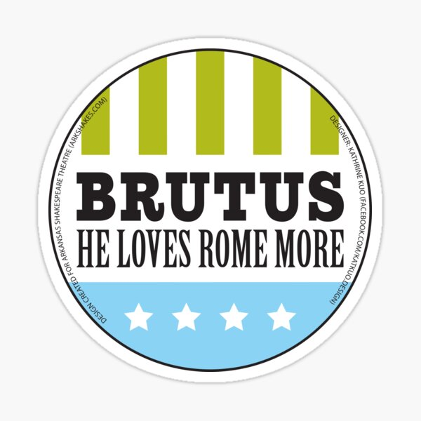 The Arkshakes Collection: Brutus Button Sticker