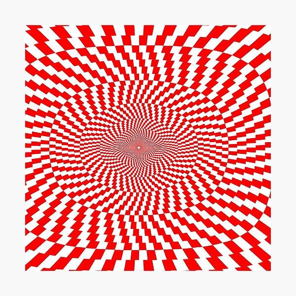Optical Illusion, Visual Illusion, Physical Illusion, Physiological Illusion, Cognitive Illusions Photographic Print