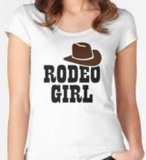 Rodeo girl Women's Fitted Scoop T-Shirt