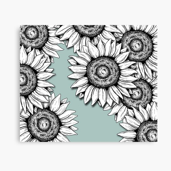She Was as Wild as the Flowers Canvas Print