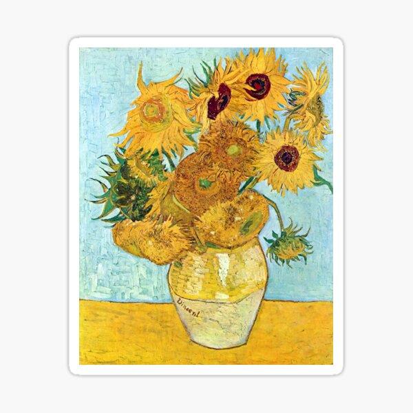 Van Gough - Sunflowers Sticker