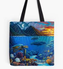 Twilight Harmony Tote Bag