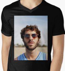 Lil Dicky Men's V-Neck T-Shirt