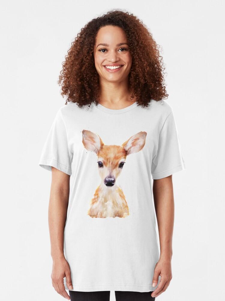 Alternate view of Little Deer Slim Fit T-Shirt
