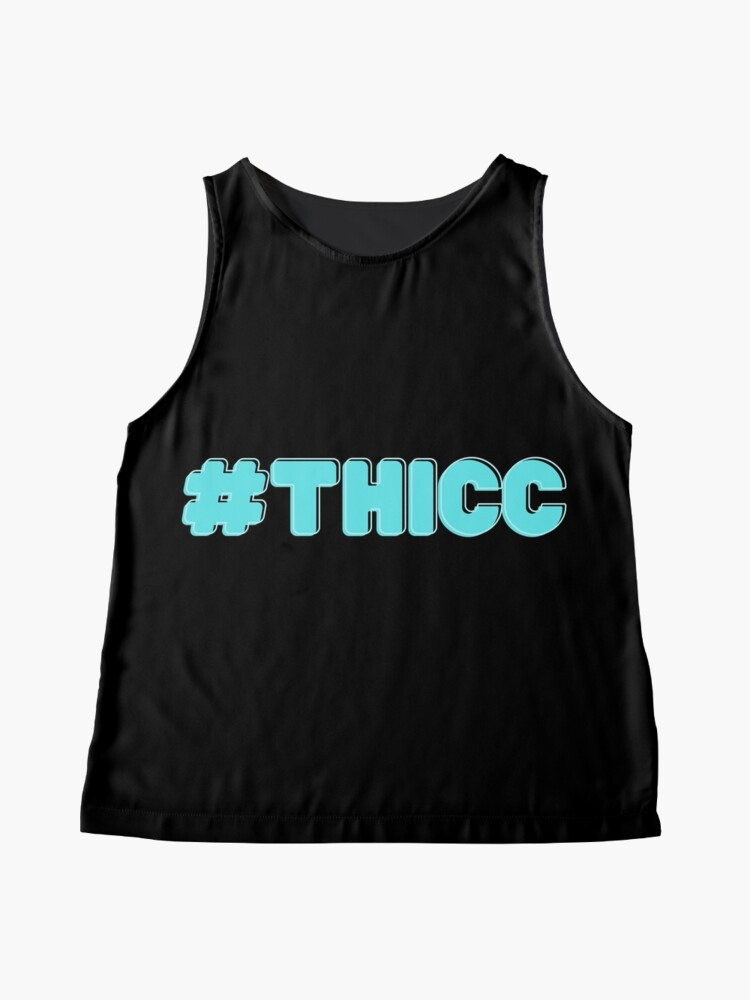 Alternate view of #THICC Sleeveless Top