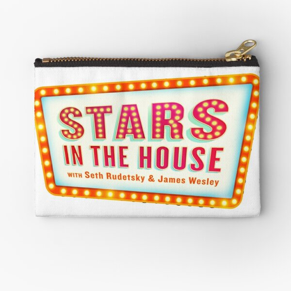 Stars in the House Zipper Pouch