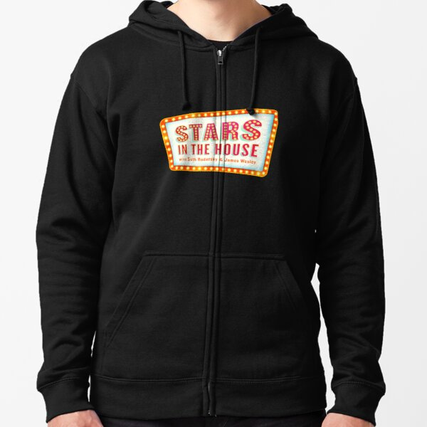 Stars in the House Zipped Hoodie