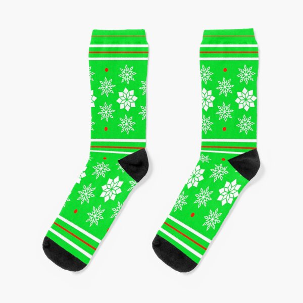 Christmas Pattern Socks