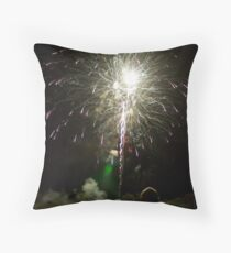 Shooting Sky Throw Pillow
