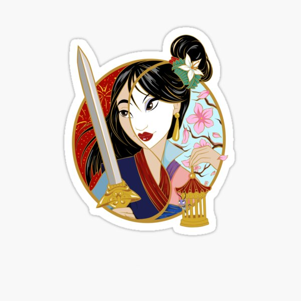 Gémeaux Mulan Sticker Sticker