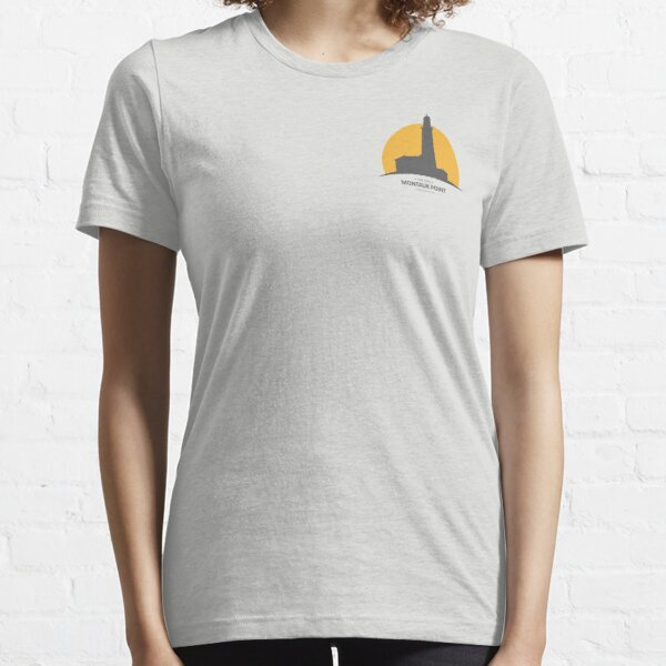 Montauk Shadow in the Sun Essential T-Shirt